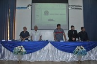 Presidente da CMI participa de palestra com Superintendente do Patrimônio da União