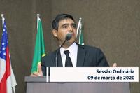 RESUMO DA SESSÃO ORDINÁRIA DO DIA 09 DE MARÇO DE 2020