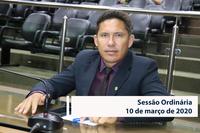 RESUMO DA SESSÃO ORDINÁRIA DO DIA 10 DE MARÇO DE 2020